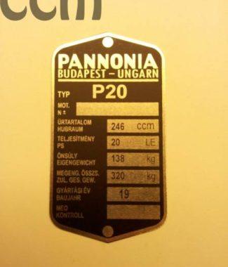 termekn675-pannonina_p20_adattabla
